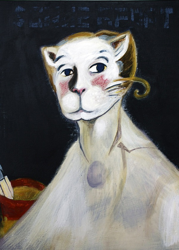 Catism, cat, art, painting