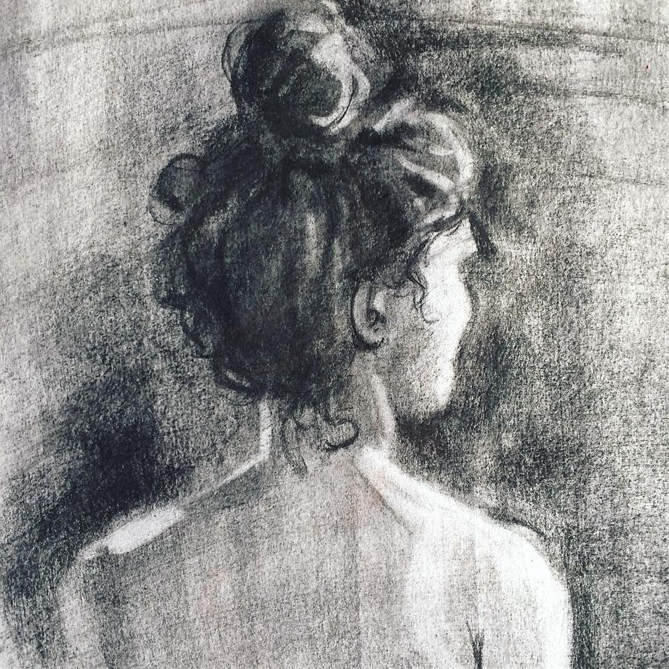 Figure Drawing - Elli Maanpää 2017